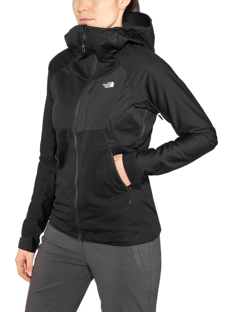 The North Face W's Impendor WindWall Hoody Jacket TNF Black